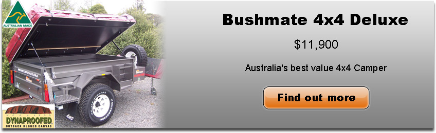 Bushmate 4x4 Deluxe